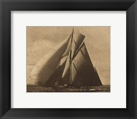 Framed Racing Yachts III
