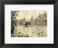 Framed On the River IV