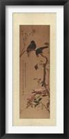 Framed Oriental Silk III