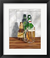 A Cold One II Framed Print