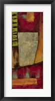 Abstract Playground II Framed Print