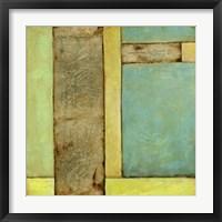 Stained Glass Window III Framed Print