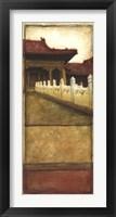 Framed Oriental Panel II