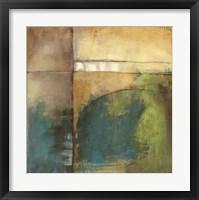 Four Corners I Framed Print