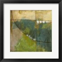 Four Corners III Framed Print