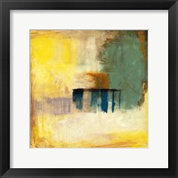 Aquamarine Aura I Framed Print