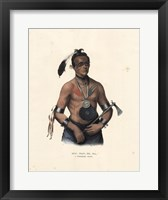 Framed Winnebago Chief
