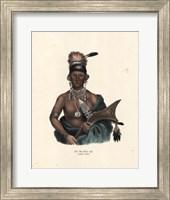 Framed Saukie Chief