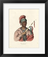 Framed Ioway Chief
