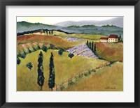 Framed Daydreams in Tuscany I
