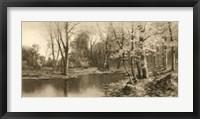 Framed Tranquil Riverscape I