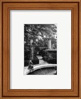 Framed Garden Fountain I