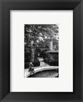 Framed Garden Fountain I