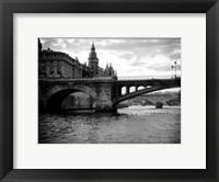 Framed Le Pont et Notre Dame