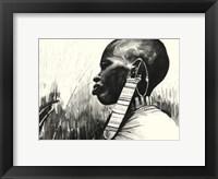 Framed Aiyetoro- Peace on Earth