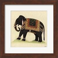Framed Elephant from India II