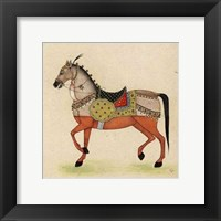 Framed Horse from India I