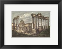 Framed Roman Forum