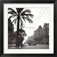Framed Sunset on the Diagonal, 1953