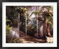 Framed Atrium's First Light I