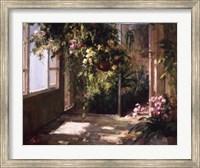 Framed Atrium's First Light II