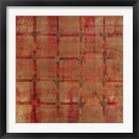 Framed Tapestry Square II