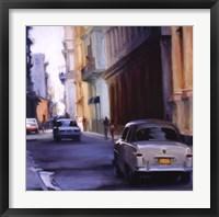 Framed Slow Ride - Havana, Cuba