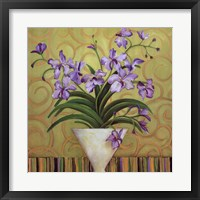 Framed Purple Spring
