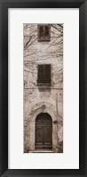 Framed La Porta Via, Volterra