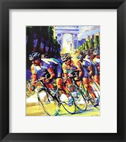 Framed Victory on the Champs Elyses