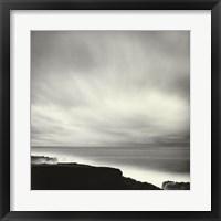 Framed Shoreline, Mendocino Coast, CA (24 x 24)