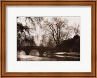 Framed Clare Bridge, Cambridge
