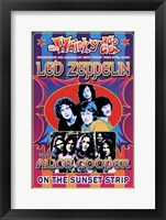 Framed Led Zeppelin, Alice Cooper