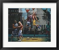 Framed In Mid Air (28 x 22)