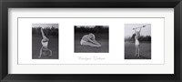 Framed Marilyn's Workout (triptych)