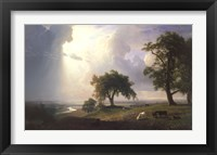 California Spring, 1875 Framed Print
