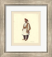 Framed Indian Costumes