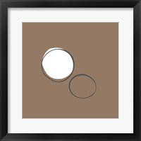 Framed Taupe IV (giclee) (medium)