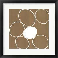 Framed Taupe II (giclee) (medium)