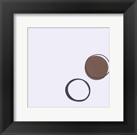 Framed Taupe I (giclee) (small)
