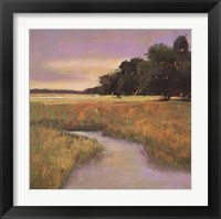 Framed Placid Marsh