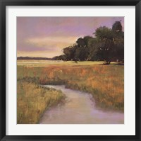 Framed Placid Marsh