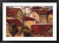 Framed Village Vista