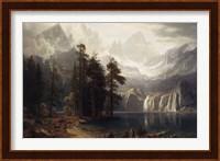 Framed Sierra Nevada