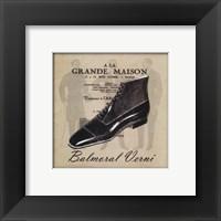 Framed Grande Maison III