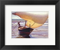 Framed Fishing Boat