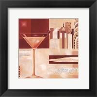Framed Manhattan Cocktails