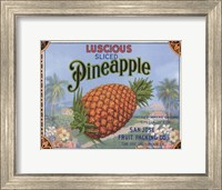 Framed Luscious Pineapple