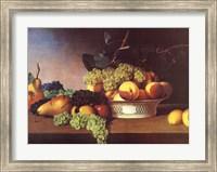 Framed Still Life with Fruit