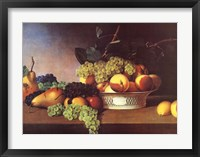 Framed Still Life with Fruit